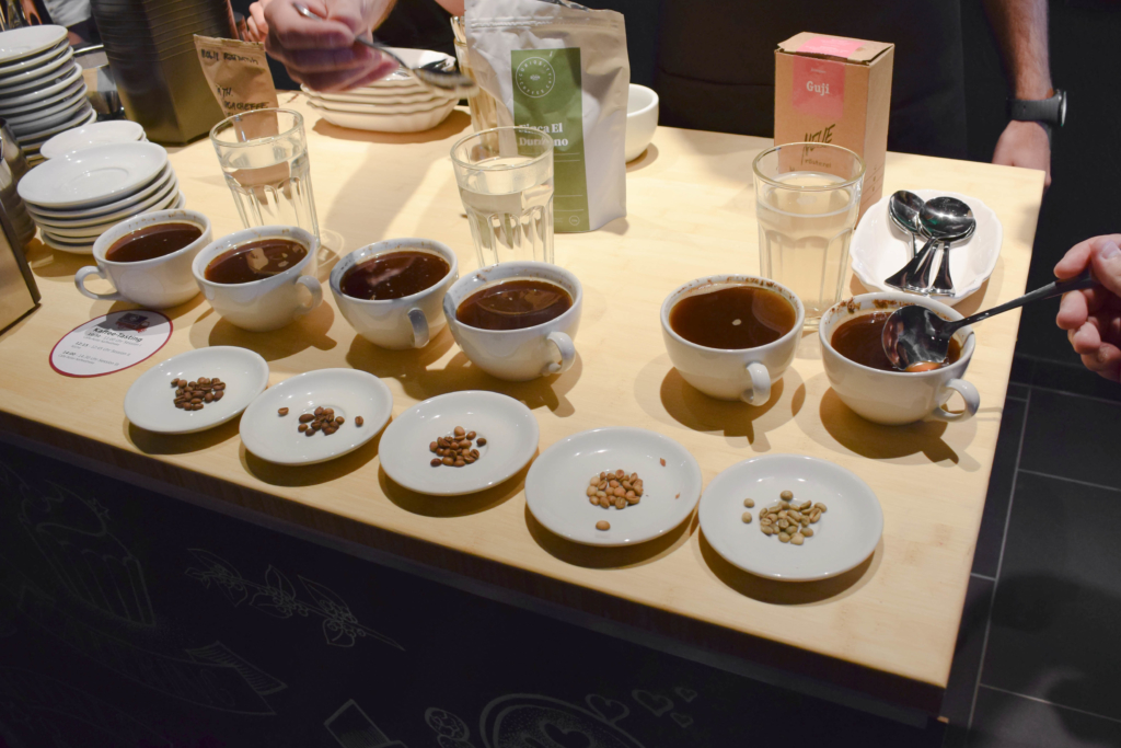 Coffee Tasting - Cupping - Cafe Roller - Chefkoch Foodcamp 2018