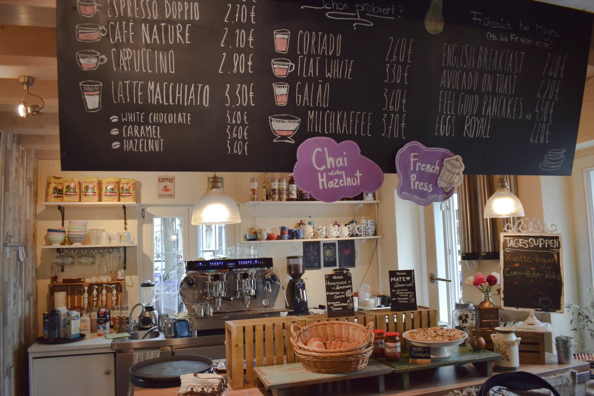 Die besten Cafés in Bonn und Umgebung Teil 2