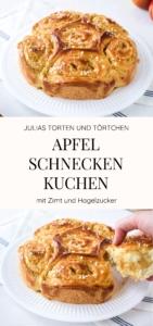 Apfel Schnecken Kuchen Julias Torten Und Tortchen