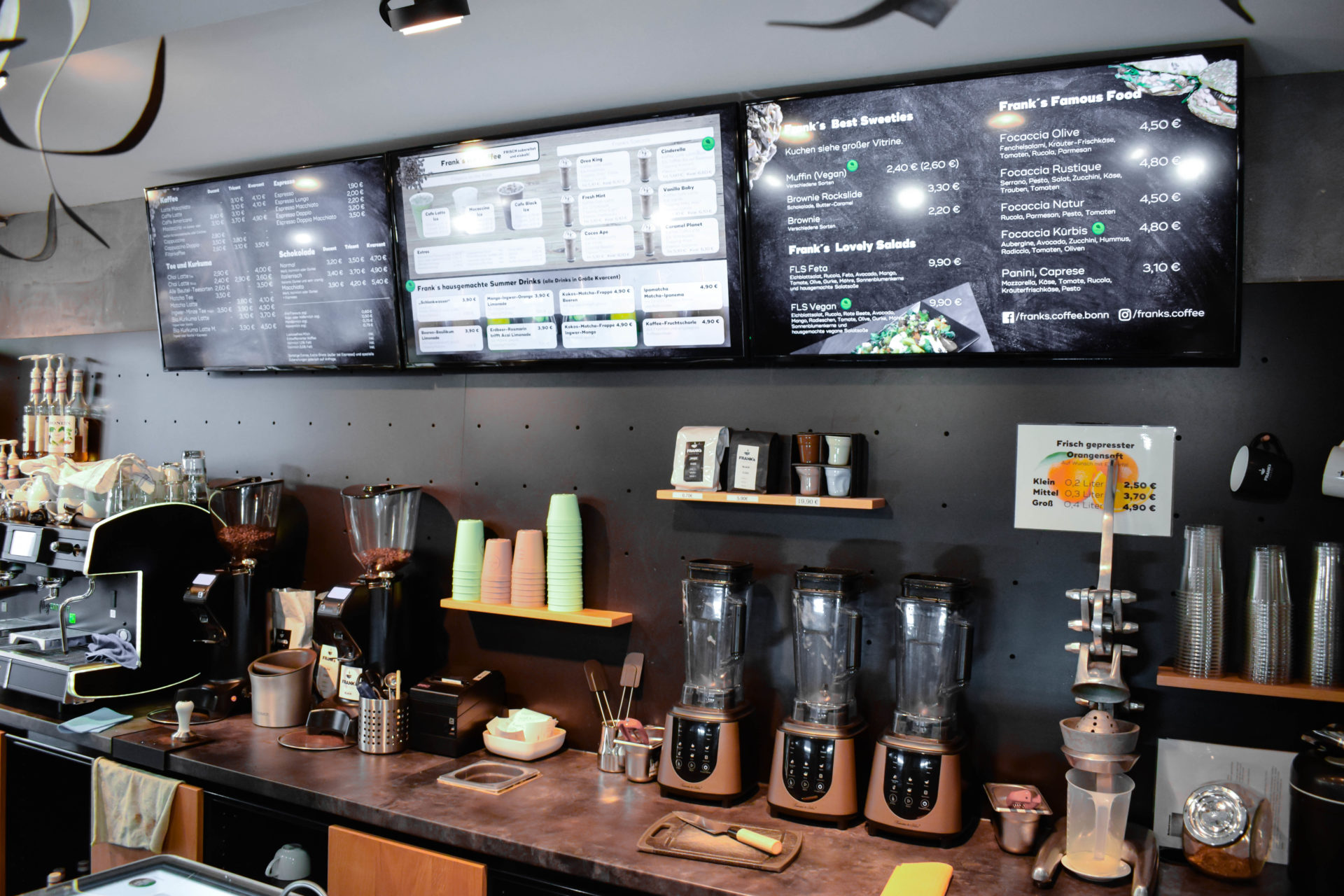 Die Besten Cafes In Bonn Und Umgebung Franks Coffee
