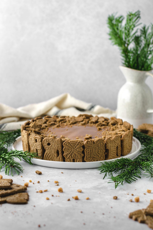 Gâteau au fromage au caramel Spekulatius Recette pour le gâteau au fromage au caramel spéculoos de Noël avec une base de biscuit est donc rapide et facile. Cheesecake pas trop acide avec de la ricotta et des épices. # Cheesecake #Recipe #Christmas #Speculoos